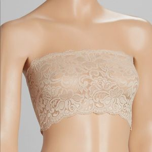 Other - Nude lace layering bandeau!